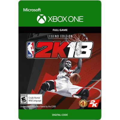 Incomm Xbox One NBA 2K18 Legend Edition (email delivery)