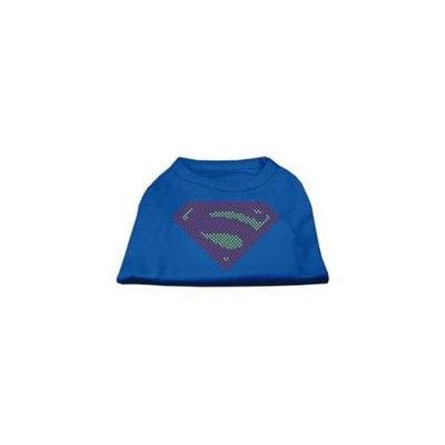 Ahi Super! Rhinestone Shirts Blue Sm (10)