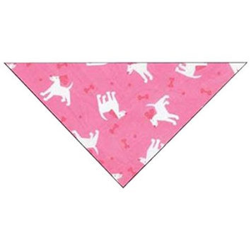 Guardian Gear ZA5806 75 Insect Shield Dogs & Bones Bandana Pink