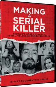 Making A Serial Killer 13 Part DVD Set - w/ Bundy, Manson, Berkowitz & More