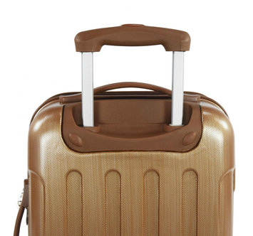 Travelers Club Luggage Travelers Club Polaris 3-Piece Metallic Hardside Expandable Spinner Luggage - Copper