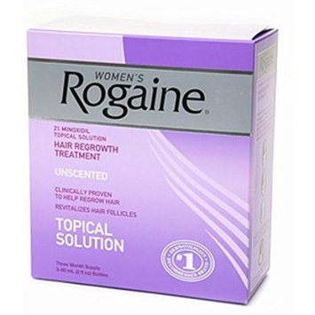 Rogaine Women's Unscented 6 oz (3-Pack) (Pack of 5)