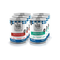 I and Love and You Grain-Free Beef Booyah Stew and Lambarama Stew Variety Pack Wet Dog Food, 13 Oz, 6 Ct