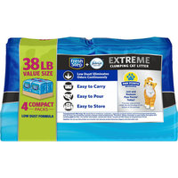 Fresh Step Extreme Scented Litter with the Power of Febreze, Clumping Cat Litter, 38 lbs