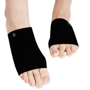 Arch Support Set 2 Pieces Plantar Fasciitis Arch Sleeves with Soft Gel Cushions for Pain Relief & Flat Foot & Foot Care & Heel Spurs One Size Fits All
