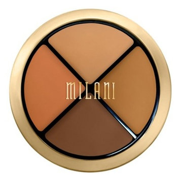 Milani Conceal + Perfect All-In-One Palette 04 Dark to Deep - .25oz