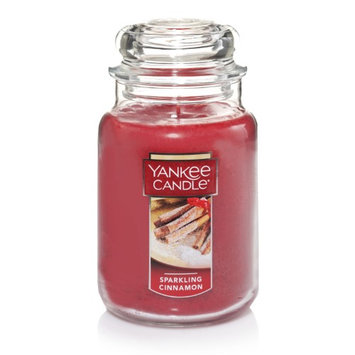 Yankee Candle Large Jar Candle, Sparkling Cinnamon