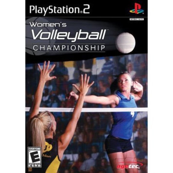 Agetec Inc. Women's Volleyball Championship (PlayStation 2)