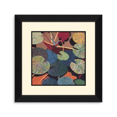 Water Lily II Framed Wall Art