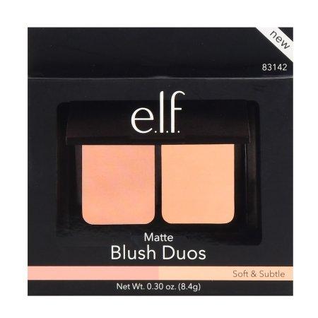 e.l.f. Matte Blush Duos Soft & Subtle - .3oz
