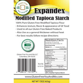 Unmodified Potato Starch (2.5 lbs) Non-GMO & GF (4 lb Value Size Also Available)