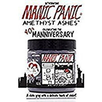 Manic Panic Semi-Permanent Manniversary Edition Hair Color Amethyst Ashes 4 Oz. Jar
