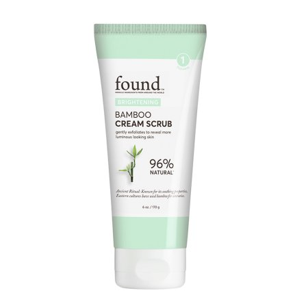 Hatchbeauty Products FOUND BRIGHTENING Bamboo Cream Scrub, 6 fl oz