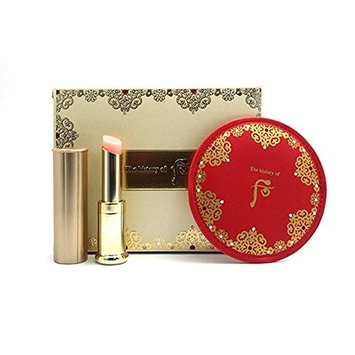 The history of Whoo Gongjinhyang:Mi Glow Lip Balm(Red) SPF 10 Special Set