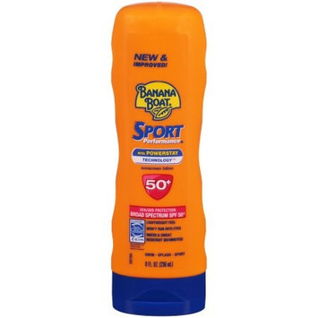 Banana Boat Sport Performance Sunscreen Lotion, SPF 50+ 8.0 fl oz(pack of 6)