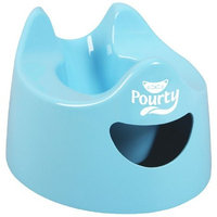 Pourty Easy-to-Pour Potty, Blue