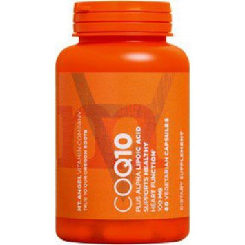 CoQ10 100mg Mt. Angel Vitamins 60 Caps