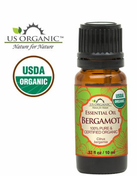 Us Organic 100% Pure Certified USDA Organic - Bergamot Essential Oil - 10 ml