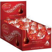 Lindt, Lindor Truffles Milk Chocolate, 60 ct Box