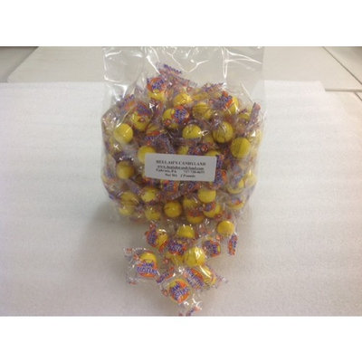 Jawbreakers Yellow Color Wrapped Candy yellow jawbreaker jaw breaker 2 pounds