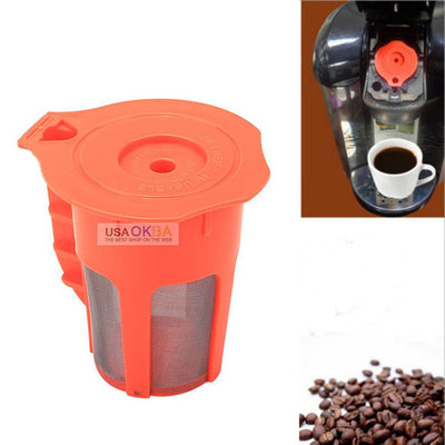 For Keurig 2.0 K-Cup Reusable Coffee Filter Pod fits K200 K250 K400 K450 K550