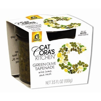 Gaea Green Olive Tapenade 3.53 Oz (Pack of 6)