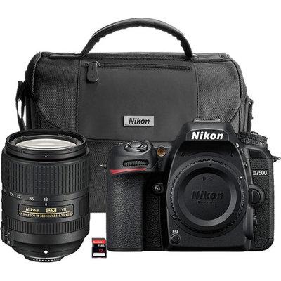 Nikon D7500 Black Digital SLR With 18-300mm VR Lens Kit