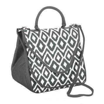 Fit & Fresh Wellesley Bag - Gray Painted Diamonds