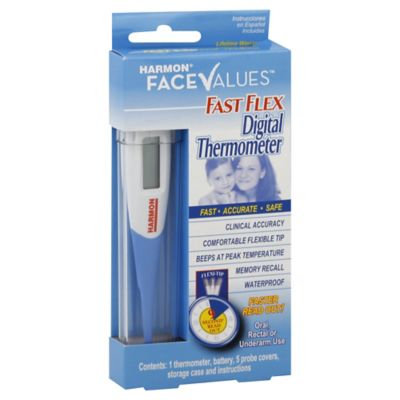 Harmon Face Values Fast Flex Digital Thermometer