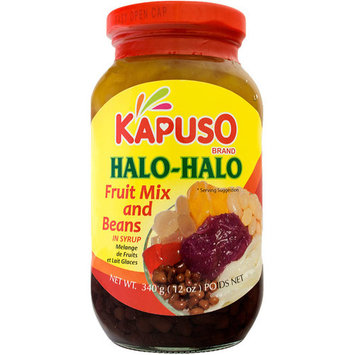 Kapuso Halo-Halo Fruit Mix and Beans in Syrup, 12 oz