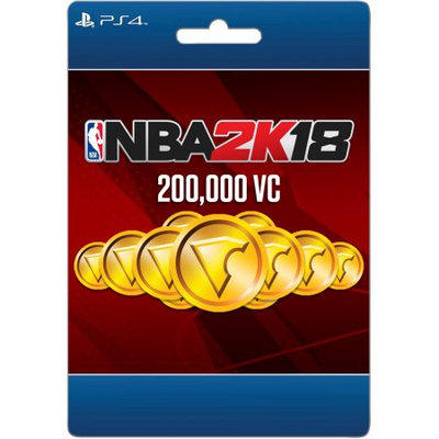 Incomm Sony NBA 2K18 200,000 VC (email delivery)