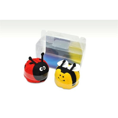 Couture Towel CT-GS15000020 13 x 14 x 2 in. Lucy The Ladybug & Blitz The Bee Towel Stars Shine in The Dark