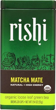 Rishi Tea Organic Loose Leaf Green Tea Matcha Mate - 1.94 oz - 2 pc (Pack of 2)
