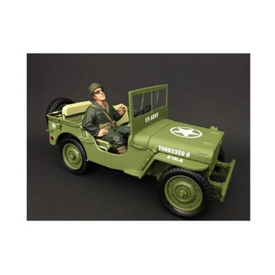 American Diorama 77412 1 by 18 Scale US Army WWII Figure III