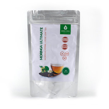 Gourmet Loose Leaf Moringa Tea, Makes 30 Cups of Tea