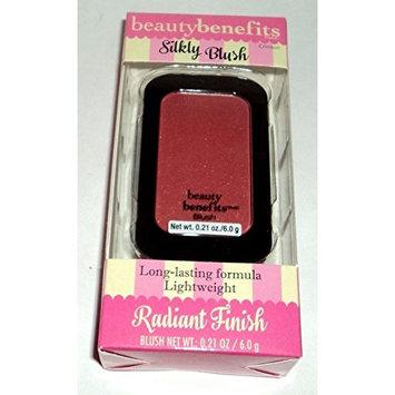 Beauty Benefits Radiant Finish Silky Blush, Crimson