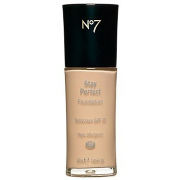Boots No7 Stay Perfect Foundation SPF 15, Blonde 1 fl oz (30 ml)