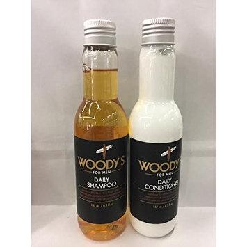 Woodys Daily Shampoo & Conditioner Shampoo 6.3 fl oz