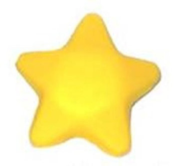 Oriental Glow Squeezie Star - Set of 3
