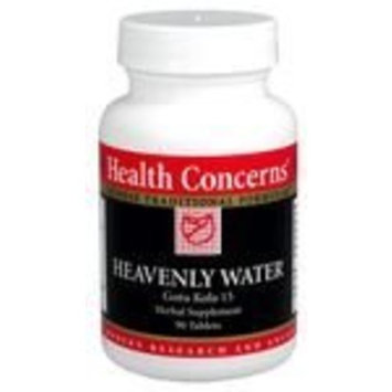 Health Concerns - Heavenly Water - Gotu Kola 15 Herbal Supplement - 90 Tablets