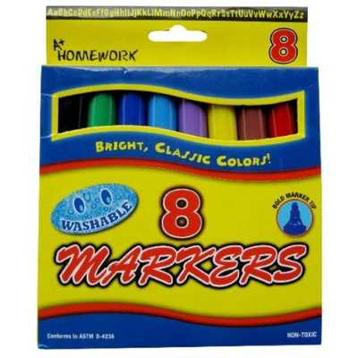 DDI 92894 Watercolor Markers - Broad Tip - -Pack of 48