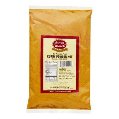 Spicy World Curry Powder, Hot, 7 Oz