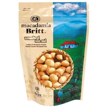 Unsalted Gourmet Macadamia Nuts By Cafe Britt