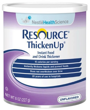 Resource Thickenup Instant Unflavored Food Thickener 8 oz. Can, 6 Pack