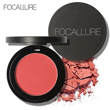 Binmer(TM) FOCALLURE Repair Capacity Powder Block Blush Exquisite Rosy Gloss Fine Outline (E)