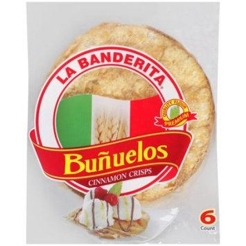 La Banderita Cinnamon Crisps Bunuelos, 6ct