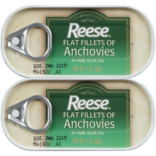 Reese Flat Anchovy, 2 oz, 2 ct