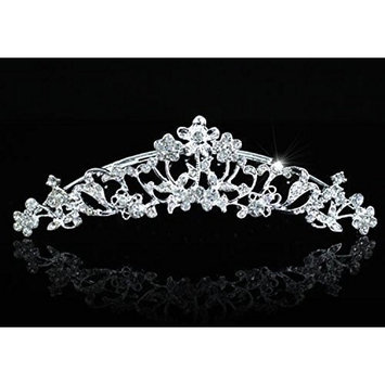 Exquisite Bridal Bride / Flower Girl Rhinestone Tiara Comb by Exquisite