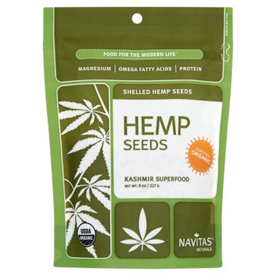 Navitas Naturals Navitas, Seed Hemp Sheld Org, 8 Oz (Pack Of 12)