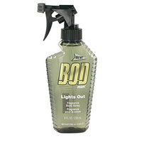 Bod Man Lights Out by Parfums De Coeur Body Spray 8 oz -100% Authentic